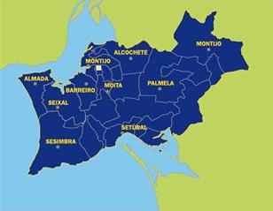 Área geográfica de Setúbal